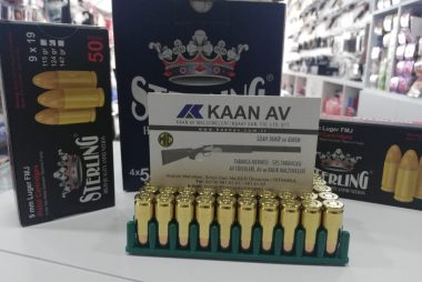 Sterling Luger 9mm Tabanca Mermisi - 2.00 TL